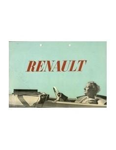 1938 RENAULT VIVA BROCHURE NEDERLANDS