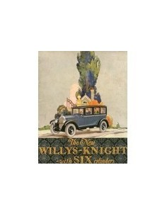 1926 WILLYS-KNIGHT SIX BROCHURE ENGELS