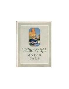 1923 WILLYS-KNIGHT PROGRAMMA BROCHURE ENGELS
