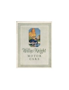 1923 WILLYS-KNIGHT PROGRAMMA BROCHURE ENGELS