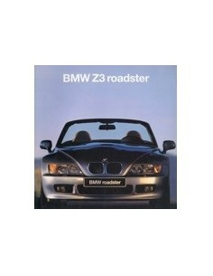 1995 BMW Z3 ROADSTER BROCHURE ITALIAANS