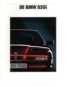 1990 BMW 8 SERIE COUPE BROCHURE NEDERLANDS