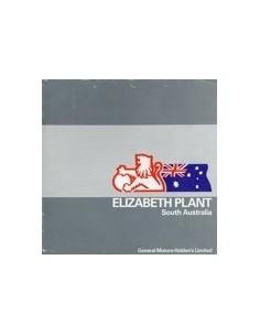 1984 HOLDEN ELIZABETH PLANT BROCHURE AUSTRALISCH