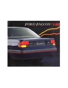 1988 FORD FALCON S BROCHURE AUSTRALISCH