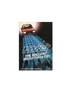1981 FORD LASER BROCHURE AUSTRALISCH