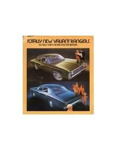 1968 CHRYSLER VALIANT RANGER LEAFLET AUSTRALISCH