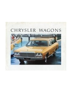 1977 CHRYSLER WAGONS BROCHURE AUSTRALISCH