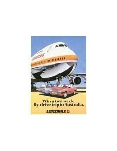 1982 LONSDALE SALOON & WAGON BROCHURE AUSTRALISCH