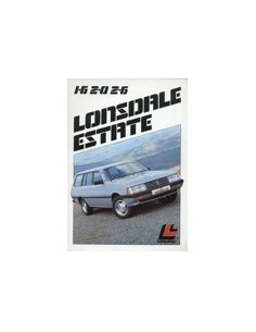 1983 LONSDALE ESTATE BROCHURE AUSTRALISCH