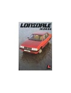 1982 LONSDALE SALOON BROCHURE AUSTRALISCH