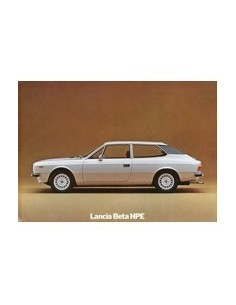 1976 LANCIA BETA HPE BROCHURE ENGELS