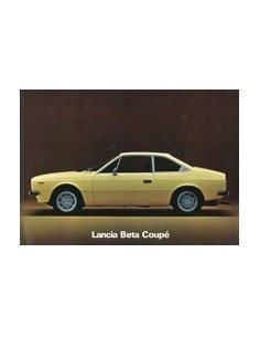 1976 LANCIA BETA COUPE BROCHURE ENGELS