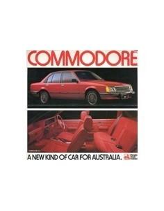 1978 HOLDEN COMMODORE SL/E LEAFLET AUSTRALISCH