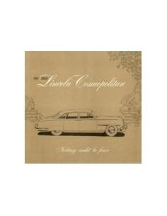 1950 LINCOLN COSMOPOLITAN BROCHURE ENGELS