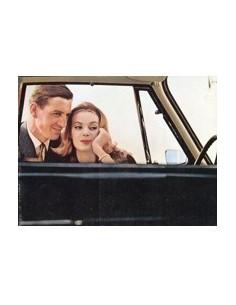 1963 VOLKSWAGEN KARMANN GHIA BROCHURE NEDERLANDS