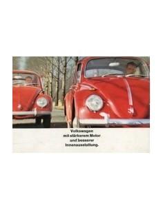1965 VOLKSWAGEN KEVER BROCHURE DUITS