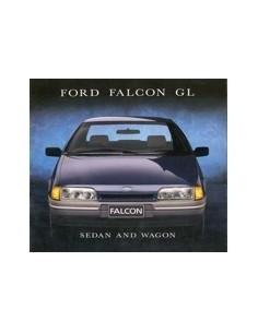 1988 FORD FALCON  BROCHURE AUSTRALISCH