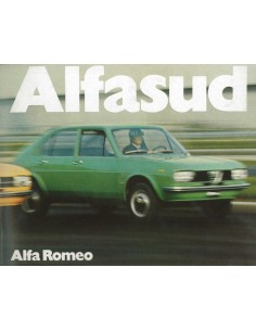 1974 ALFA ROMEO ALFASUD BROCHURE FRANS