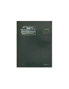 1996 VOLVO 960 BROCHURE NEDERLANDS