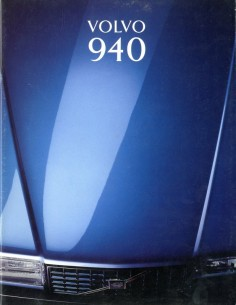 1993 VOLVO 940 BROCHURE NEDERLANDS