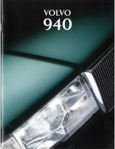 1995 VOLVO 940 BROCHURE NEDERLANDS