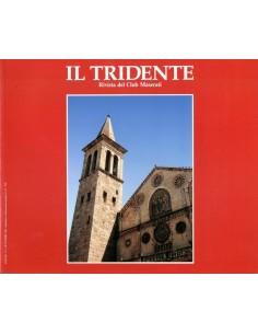1990 RIVISTA DEL CLUB MASERATI IL TRIDENTE MAGAZINE NO 3