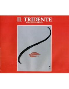 1989 RIVISTA DEL CLUB MASERATI IL TRIDENTE MAGAZINE NO 1