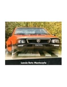 1976 LANCIA BETA MONTECARLO BROCHURE DUITS ENGELS