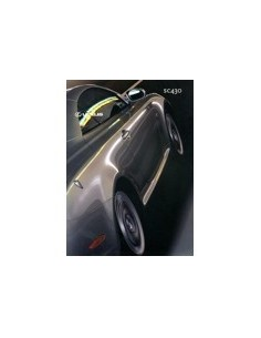 2003 LEXUS SC430 BROCHURE NEDERLANDS