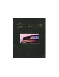 1990 LEXUS LS400 BROCHURE ARABISCH
