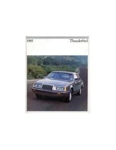 1985 FORD THUNDERBIRD BROCHURE ENGELS