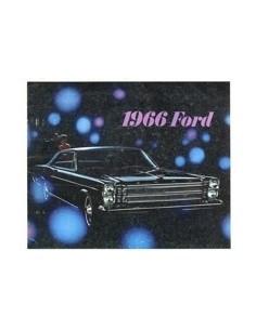1966 FORD PROGRAMMA BROCHURE ENGELS