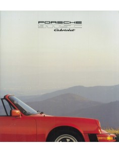 1980 PORSCHE 911 SC CABRIOLET BROCHURE ENGELS USA