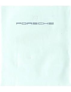 1984 PORSCHE PROGRAMMA BROCHURE NEDERLANDS