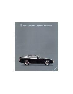 1985 PORSCHE 944 BROCHURE FRANS