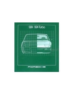 1981 PORSCHE 924 TURBO BROCHURE ENGELS USA