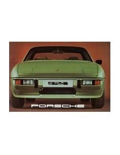 1977 PORSCHE 924 BROCHURE DUITS
