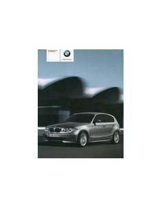 2005 BMW 1 SERIE INSTRUCTIEBOEKJE DUITS