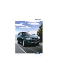 2000 FORD TERRITORY BROCHURE AUSTALISCH