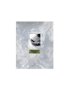 1990 LEXUS LS400 BROCHURE ENGELS USA