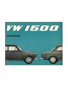 1966 VOLKSWAGEN 1500 INSTRUCTIEBOEK NEDERLANDS