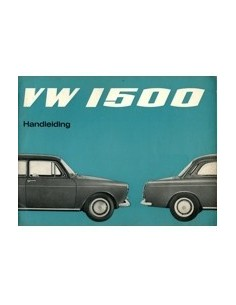 1966 VOLKSWAGEN 1500 INSTRUCTIEBOEK NEDERLANDS