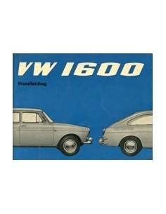 1966 VOLKSWAGEN 1600 INSTRUCTIEBOEK NEDERLANDS
