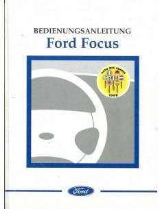 1999 FORD FOCUS INSTRUCTIEBOEKJE DUITS