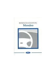 1997 FORD MONDEO INSTRUCTIEBOEKJE DUITS