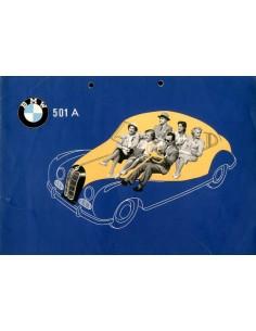 1954 BMW 501 A BROCHURE ENGELS