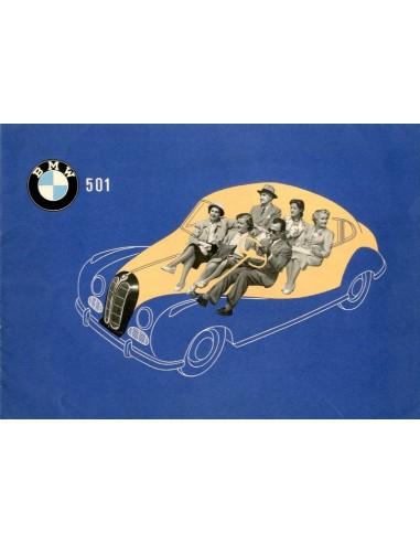 1953 BMW 501 BROCHURE DUITS