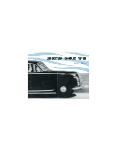 1956 BMW 502 V8 BROCHURE ENGELS