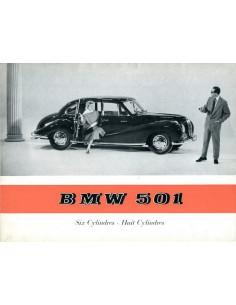 1955 BMW 501 V6 BROCHURE FRENCH