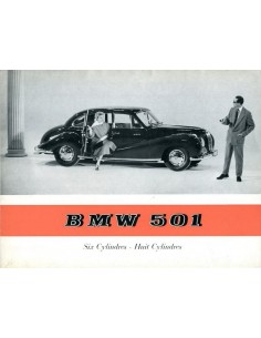 1955 BMW 501 V6 BROCHURE FRANS
